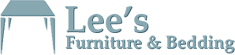 Lee's Furniture & Bedding Logo